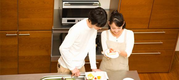 初めての手料理