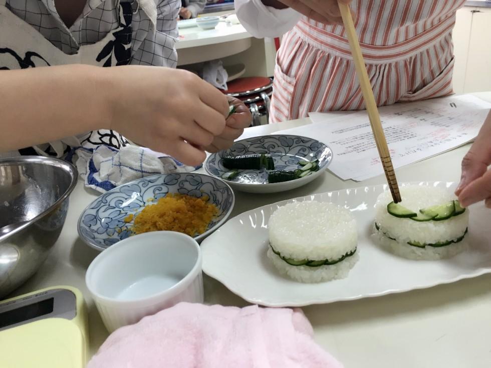 料理の盛り付け