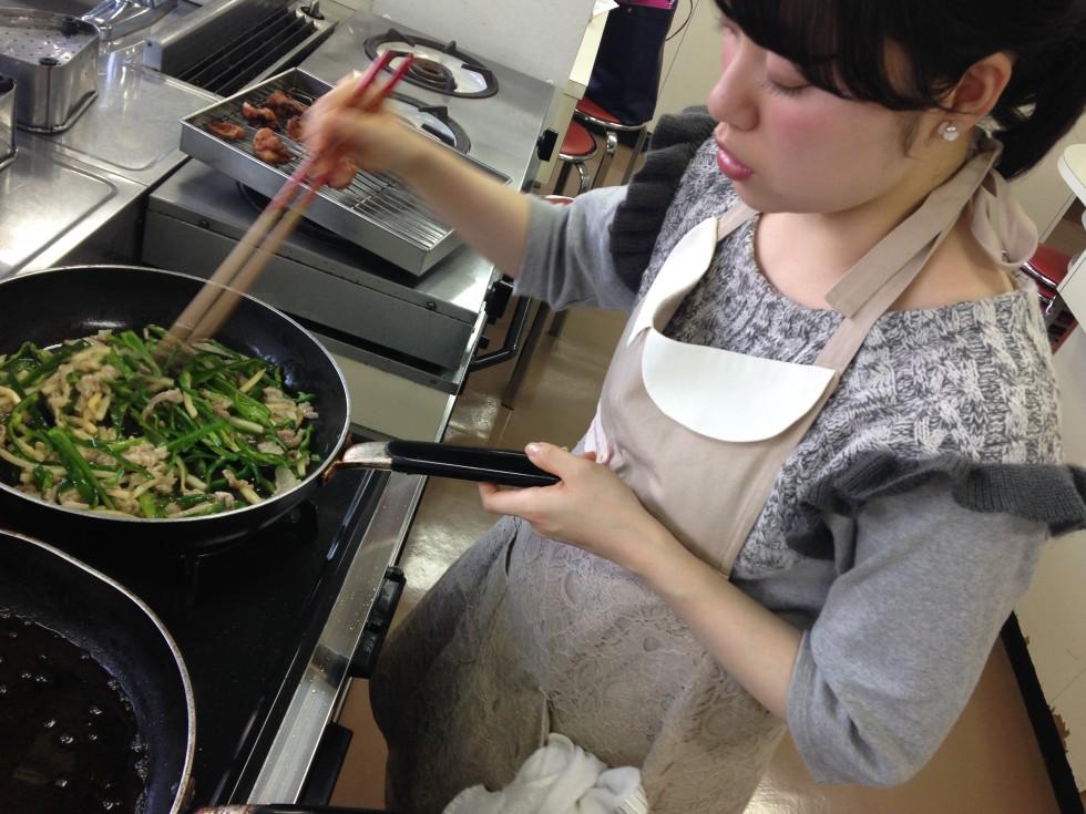 野菜炒めのコツ